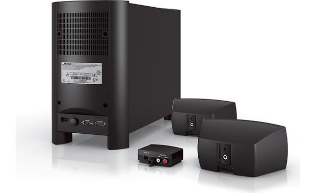 Bose® CineMate® Series II digital home theater speaker system