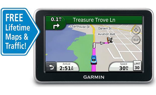 garmin n vi 2360lmt portable navigator with free lifetime traffic rh crutchfield com Garmin GPS Mount Register Garmin Nuvi