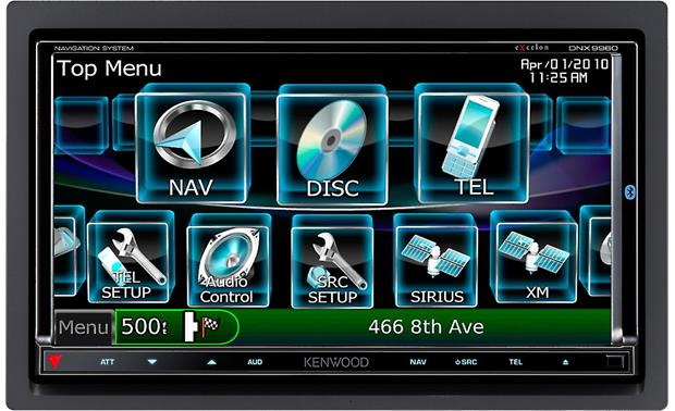 kenwood excelon dnx9960 navigation receiver at crutchfield com rh crutchfield com Kenwood 9960 Update Kenwood DNX-9960 Review