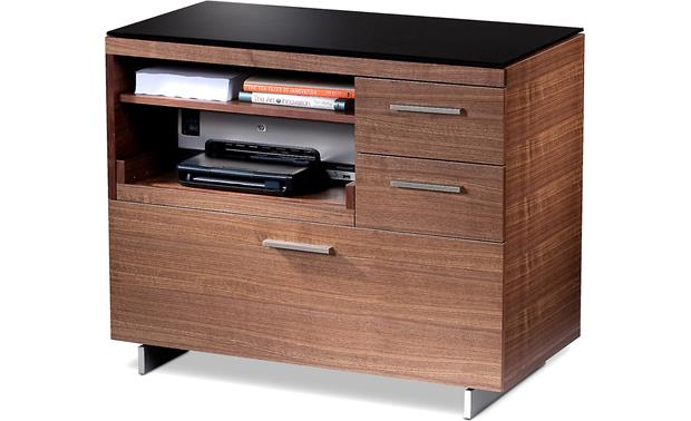 BDI Sequel 6017 Walnut finish (printer and supplies not included)