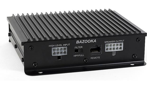 Bazooka CSA-2 Works with optional Bazooka wired remotes and source switcher