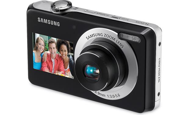 samsung tl205 12 2 megapixel dual lcd digital camera with 3x optical rh crutchfield com Samsung TL205 Pickies How Many Are There Samsung TL205 Problems