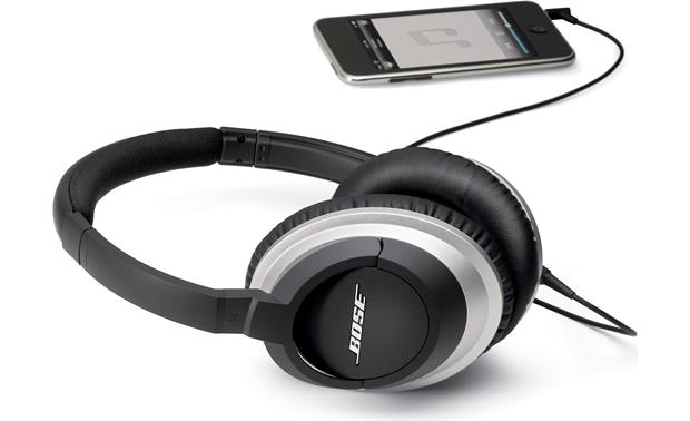 Bose® AE2 audio headphones Connected to an iPod® (iPod not included)