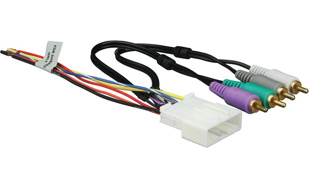 metra 70 7553 receiver wiring harness connect a new car stereo in select 2007 up nissan suzuki
