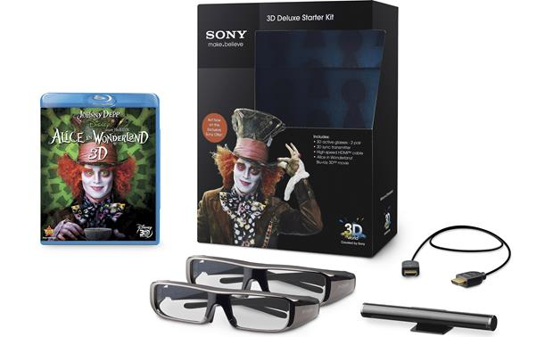 Sony <em>Alice In Wonderland</em> 3D Starter Kit Front