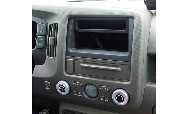 American International HONK836 Dash Kit Kit installed