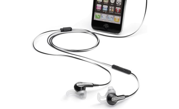 Bose® MIE2i mobile headset Another view (iPhone not included)
