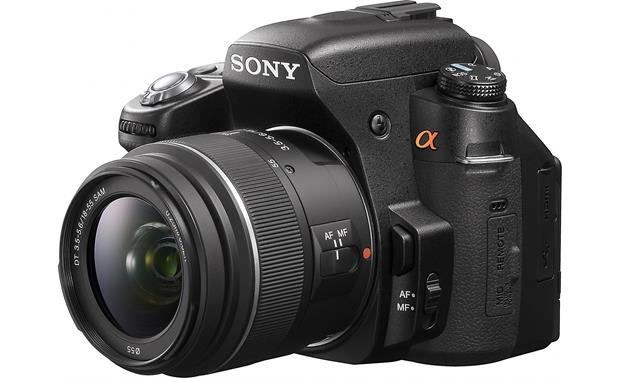 Sony Alpha DSLR-A580 Kit Angled view