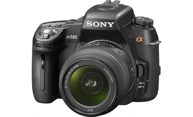 Sony Alpha DSLR-A580 Kit Front