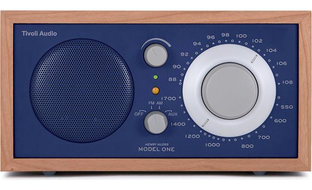 tivoli audio model one cherry blue am fm radio at. Black Bedroom Furniture Sets. Home Design Ideas