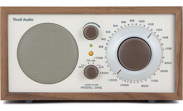 tivoli audio model one walnut beige am fm radio at. Black Bedroom Furniture Sets. Home Design Ideas