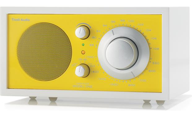 Tivoli Audio Frost White Model One Frost White and Yellow