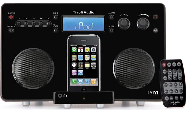 Tivoli Audio iYiYi™ Generation 2 Black (iPhone not included)