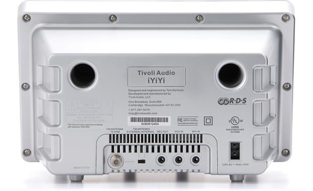 Tivoli Audio iYiYi™ Generation 2 White, back