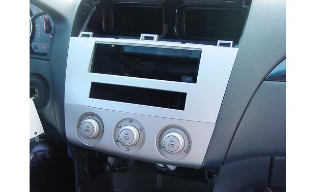 Scosche TA-2041B Dash Kit Kit installed without radio