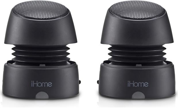 Audio Docks & Mini Speakers Portable Audio & Headphones Rechargeable Hearty Ihome Bluetooth Speaker