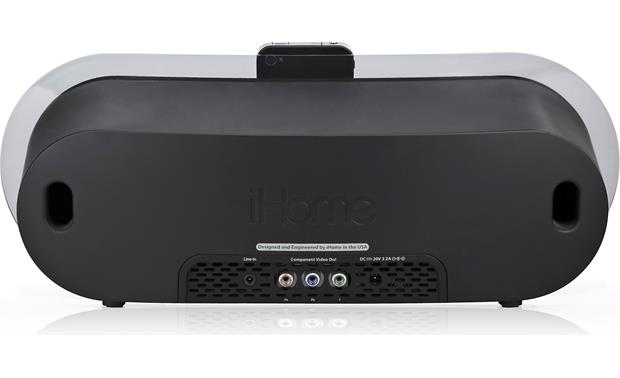 iHome iP3 Back