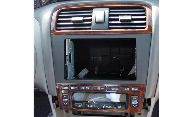 Metra 95-8211 Dash Kit Kit installed without new radio in dash of Toyota Avalon