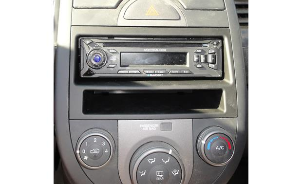 Metra 99-7337B Dash Kit Kit installed