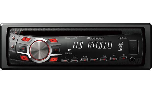 g130DEH33HD F pioneer deh 33hd cd receiver at crutchfield com pioneer deh-33hd wiring diagram at bayanpartner.co