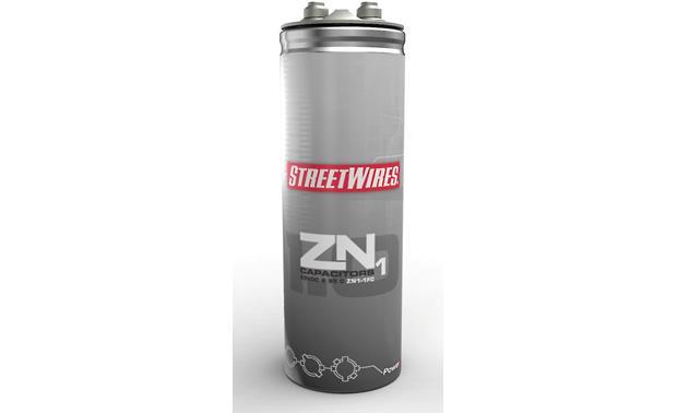 StreetWires ZeroNoise1 Capacitor 1-farad capacitor (16/20 volt) — Model  ZN1-1FC at CrutchfieldCrutchfield