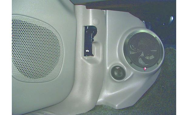 Q-Forms Kick Panel Enclosures Light gray shown