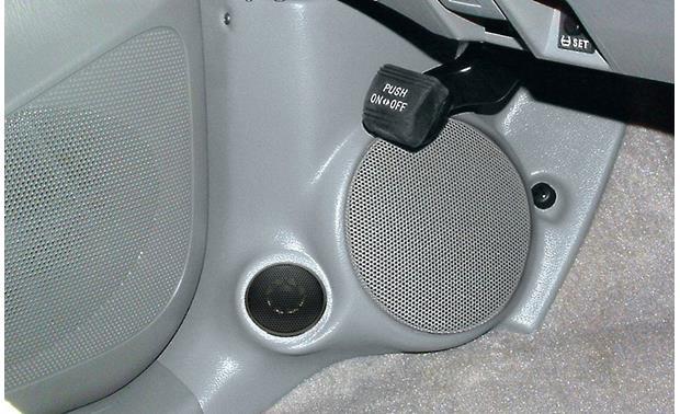 q forms kick panel enclosures black install a 6 1 2 component speaker system in 2005 up. Black Bedroom Furniture Sets. Home Design Ideas