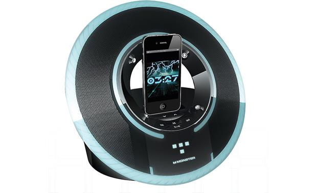 Monster® Tron Legacy Light Disc audio iPod® dock at Crutchfield