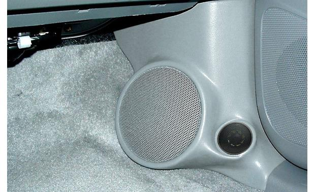 Q-Forms Kick Panel Enclosures Shown in Gray