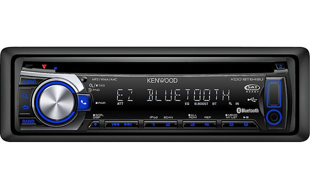 Kenwood KDC-BT648U Front