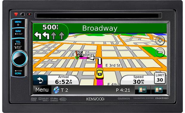 kenwood dnx5180 navigation receiver at crutchfield com kenwood dnx5180 other