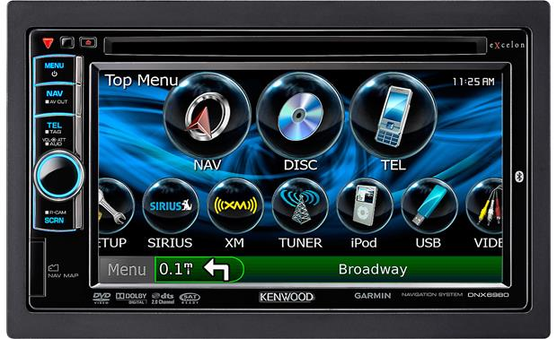 Kenwood Excelon DNX6980 Front