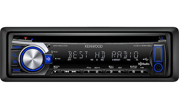 kenwood kdc hdu cd receiver at com kenwood kdc hd548u front