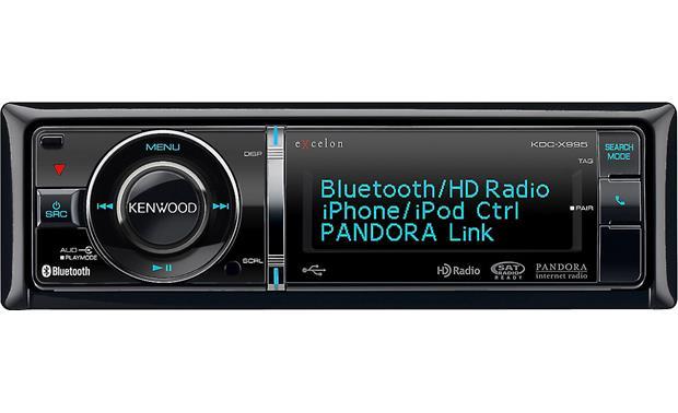 46c49ddeab24 Kenwood Excelon KDC-X995 CD receiver at Crutchfield.com