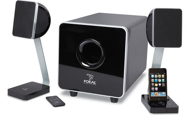 Focal XS® 2.1 Multimedia Sound System (iPhone not included)