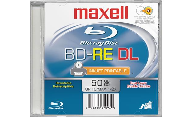 Maxell BD-RE Front
