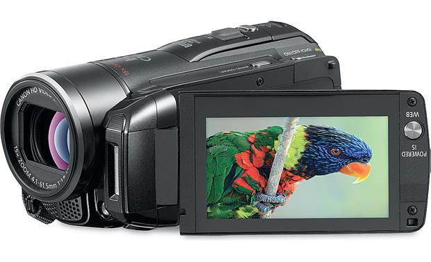 canon vixia hf m31 hd camcorder with 32gb flash memory and 2 11 16 rh crutchfield com Canon VIXIA HF R800 Canon VIXIA HF R800