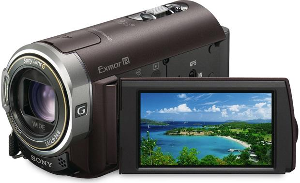 Sony HDR-CX350V Handycam® Front