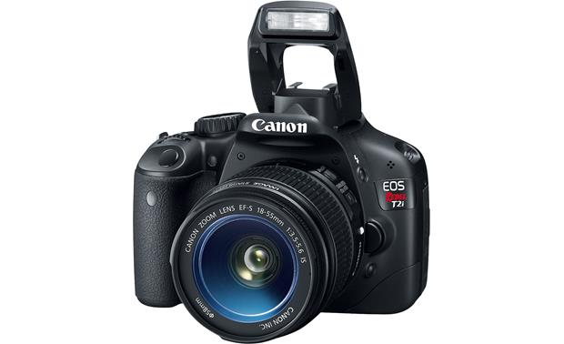 Canon EOS Digital Rebel T2i Kit With flash extended