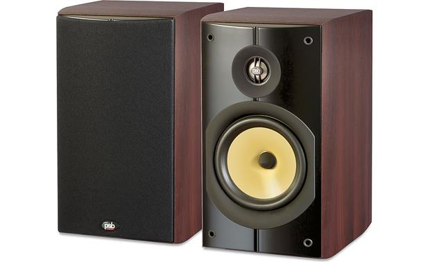 psb image b5 PSB Image B5 (Dark Cherry) Bookshelf speakers at Crutchfield.com