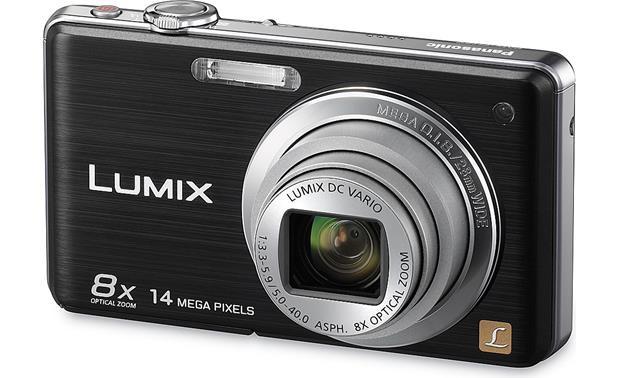 panasonic lumix dmc fh20 black 14 1 megapixel digital camera with rh crutchfield com Newest Panasonic Lumix Camera Panasonic Lumix GH3