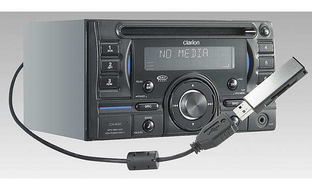 x020CX400 o_mt2 clarion cx400 cd receiver at crutchfield com Clarion Wiring Harness Diagram at n-0.co
