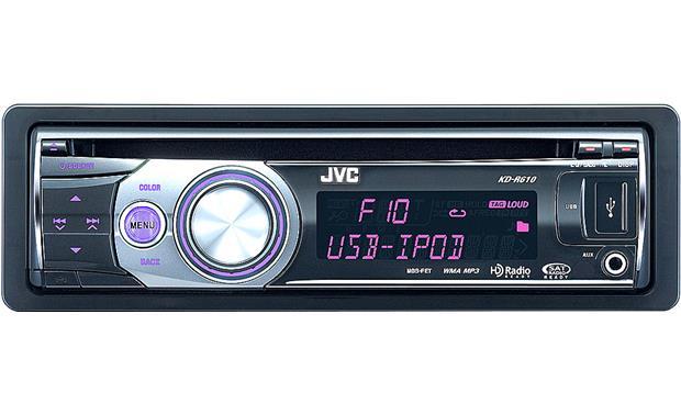 JVC KD-R610 CD receiver at CrutchfieldCrutchfield