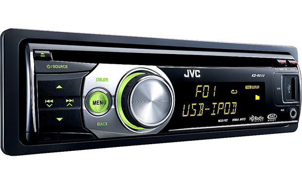Jvc Kd R610 Cd Receiver At Crutchfield