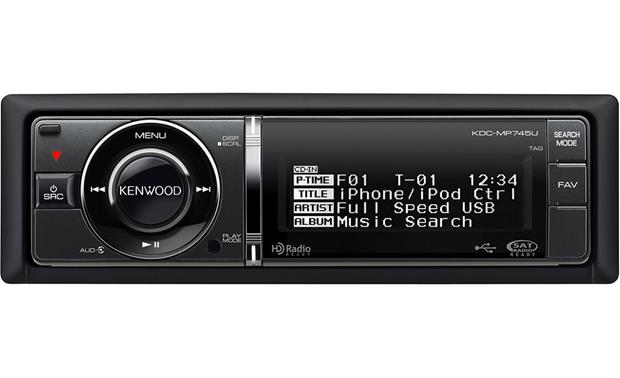 kenwood kdc mp745u cd receiver at crutchfield com kenwood kdc mp745u front