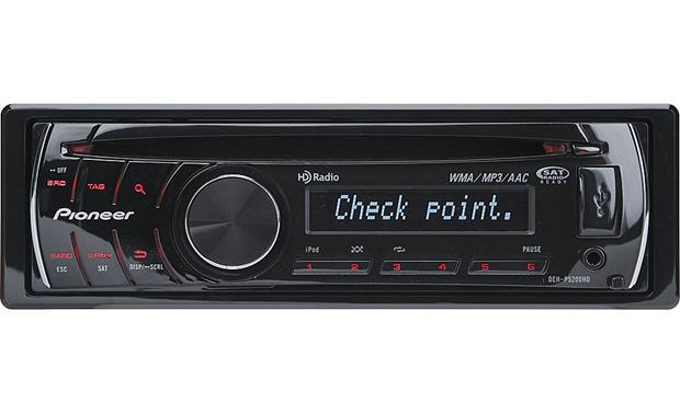 pioneer deh p5200hd cd receiver at crutchfield com rh crutchfield com Pioneer Wiring Harness Diagram Pioneer Deh 12 Wiring-Diagram