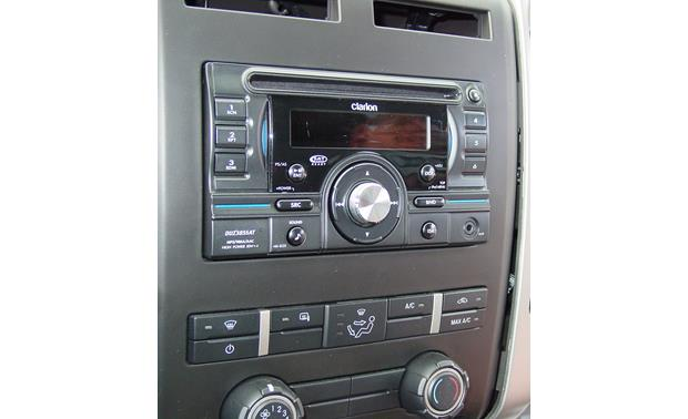 Ford In-dash Receiver Kit Kit installed