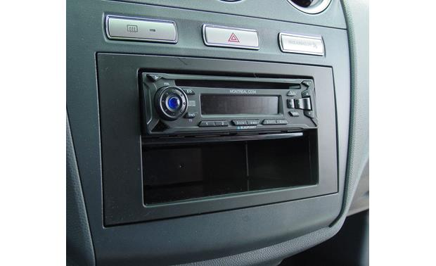 Ford Transit Connect In-dash Receiver Kit Kit installed