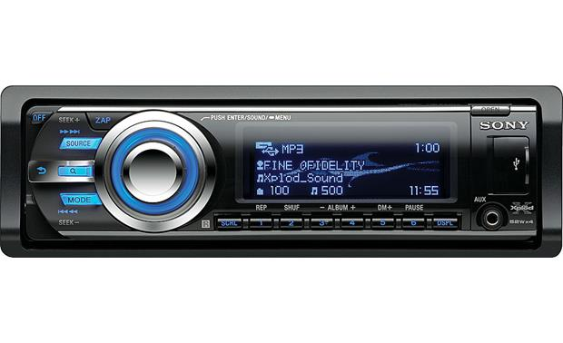 Sony CDX-GT740UI Front