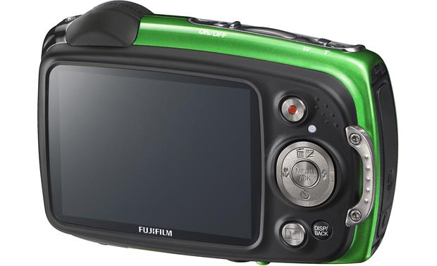 Fujifilm FinePix XP30 Back (Green)